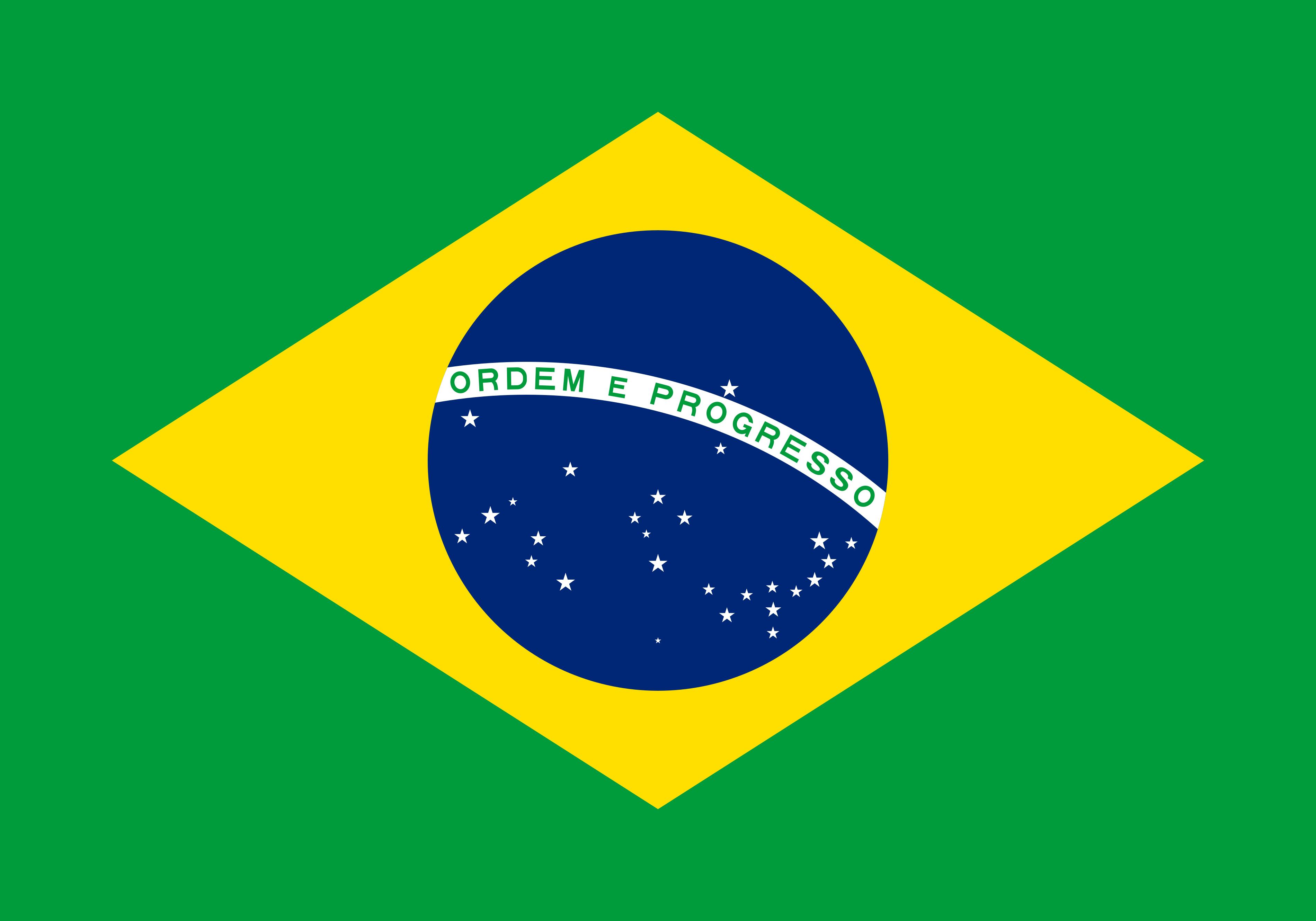 Bandeira do Brasil.