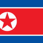 Bandeira da Coreia do norte,