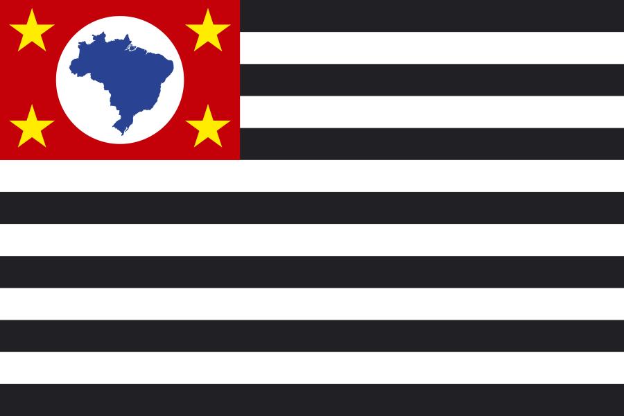 Bandeira do Estado de São Paulo png.