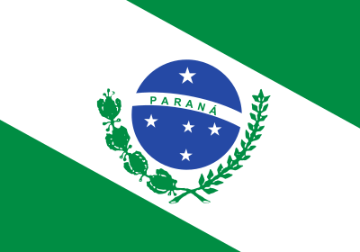 Bandeira do Paraná.