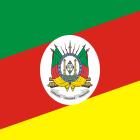 Bandeira do Estado do Rio Grande do Sul.