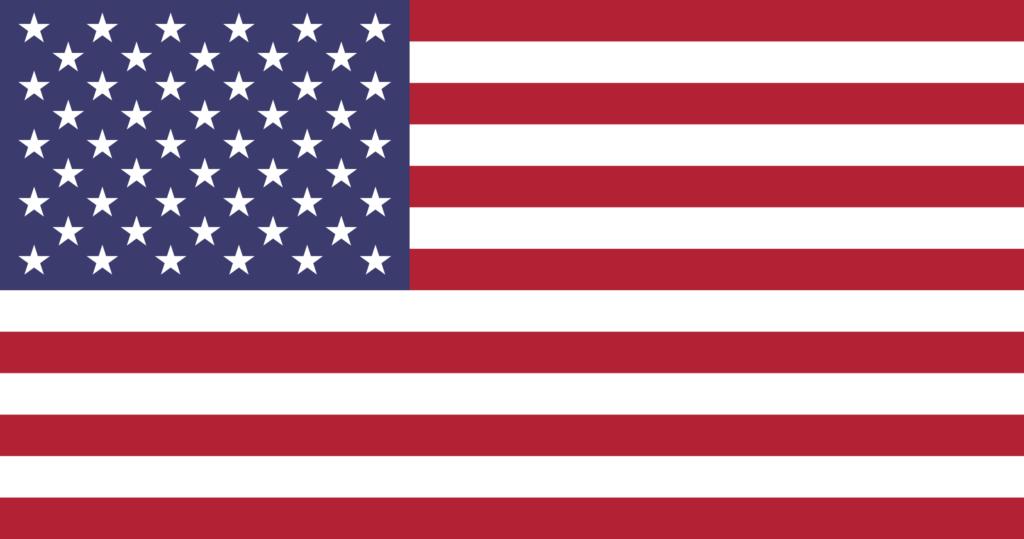 Bandeira dos Estados Unidos (eua).