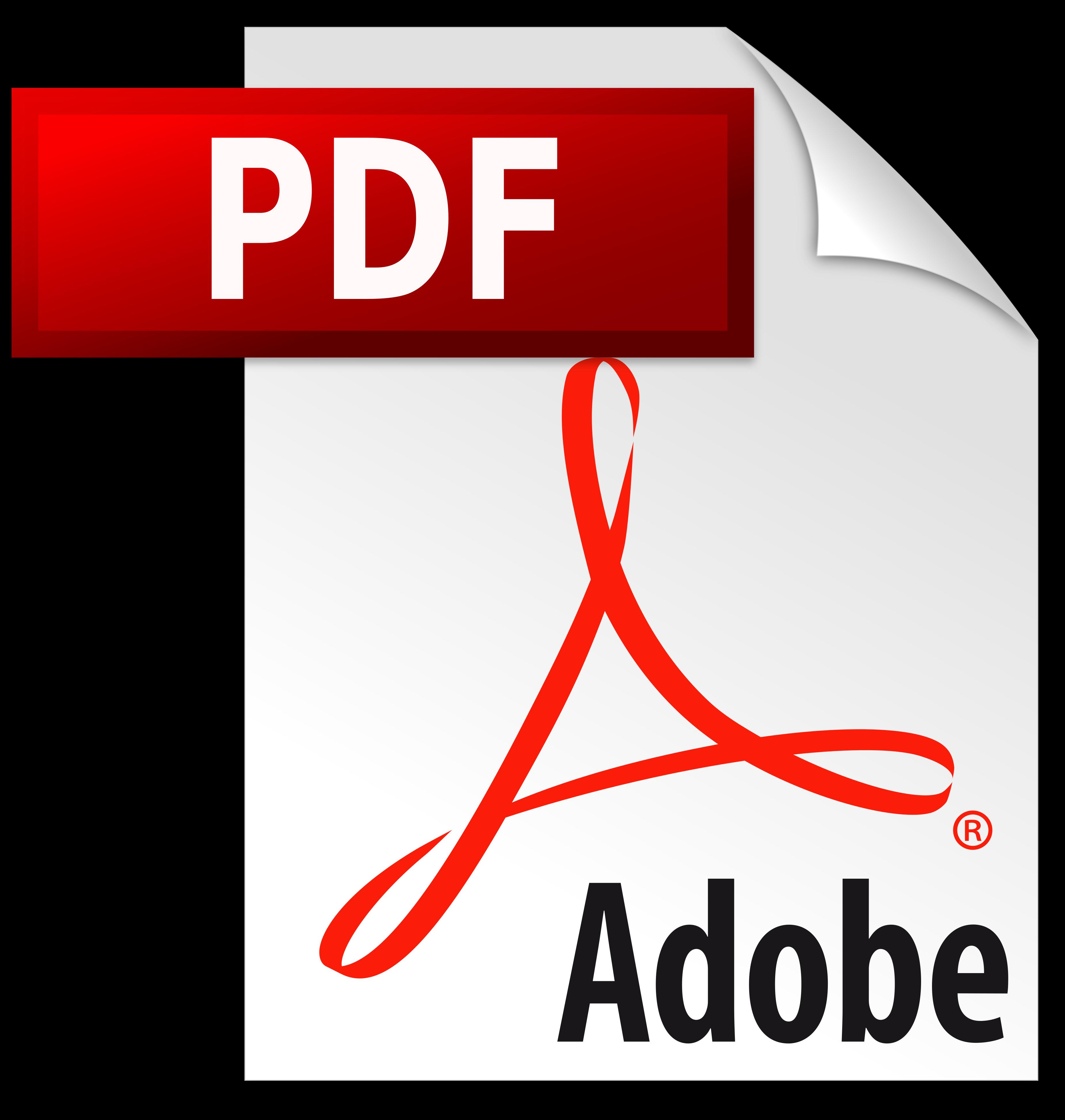 Adobe pdf icone.