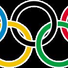 anel olímpico, anéis olímpicos.