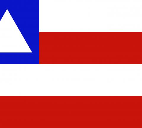 Bandeira da Bahia Estado.