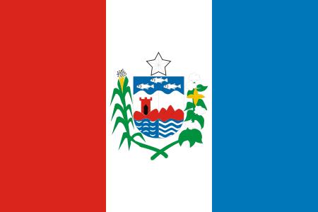 Bandeira de Alagoas, estado.