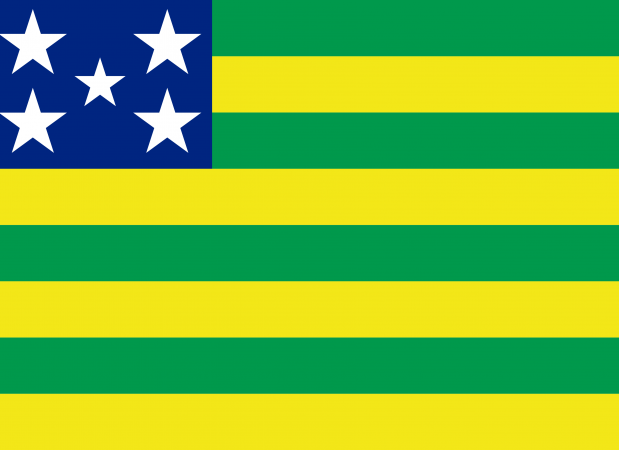 bandeira de goiás estado.