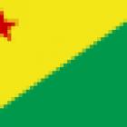 Bandeira do Acre estado.