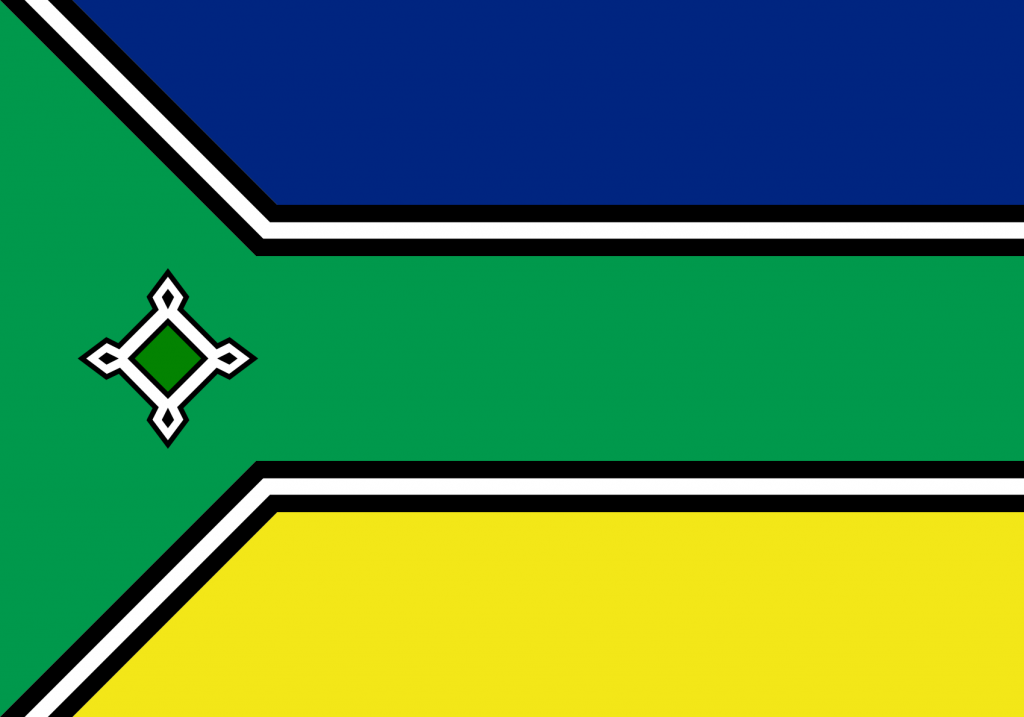 Bandeira do Amapá, Estado.
