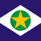 Bandeira do Mato Grosso Estado.
