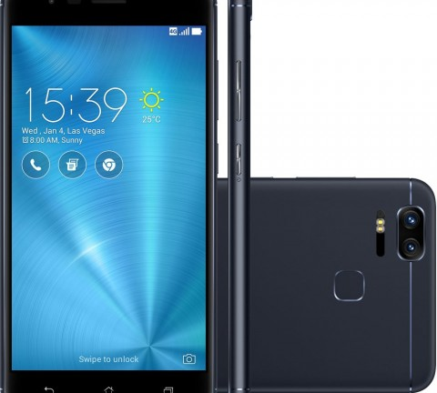 Smartphone Asus Zenfone 3 Zoom Preto