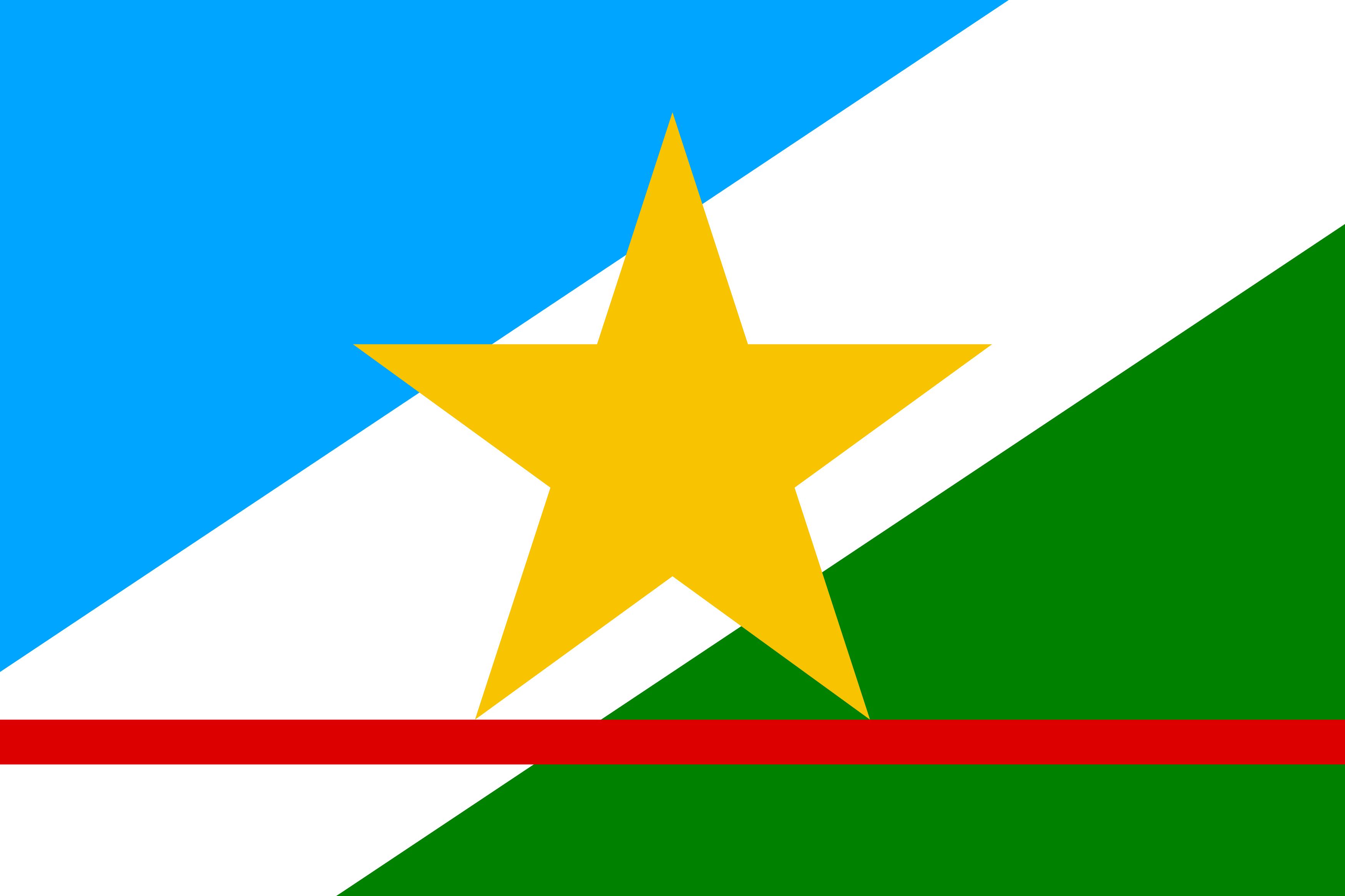 Bandeira de Roraima, estado.