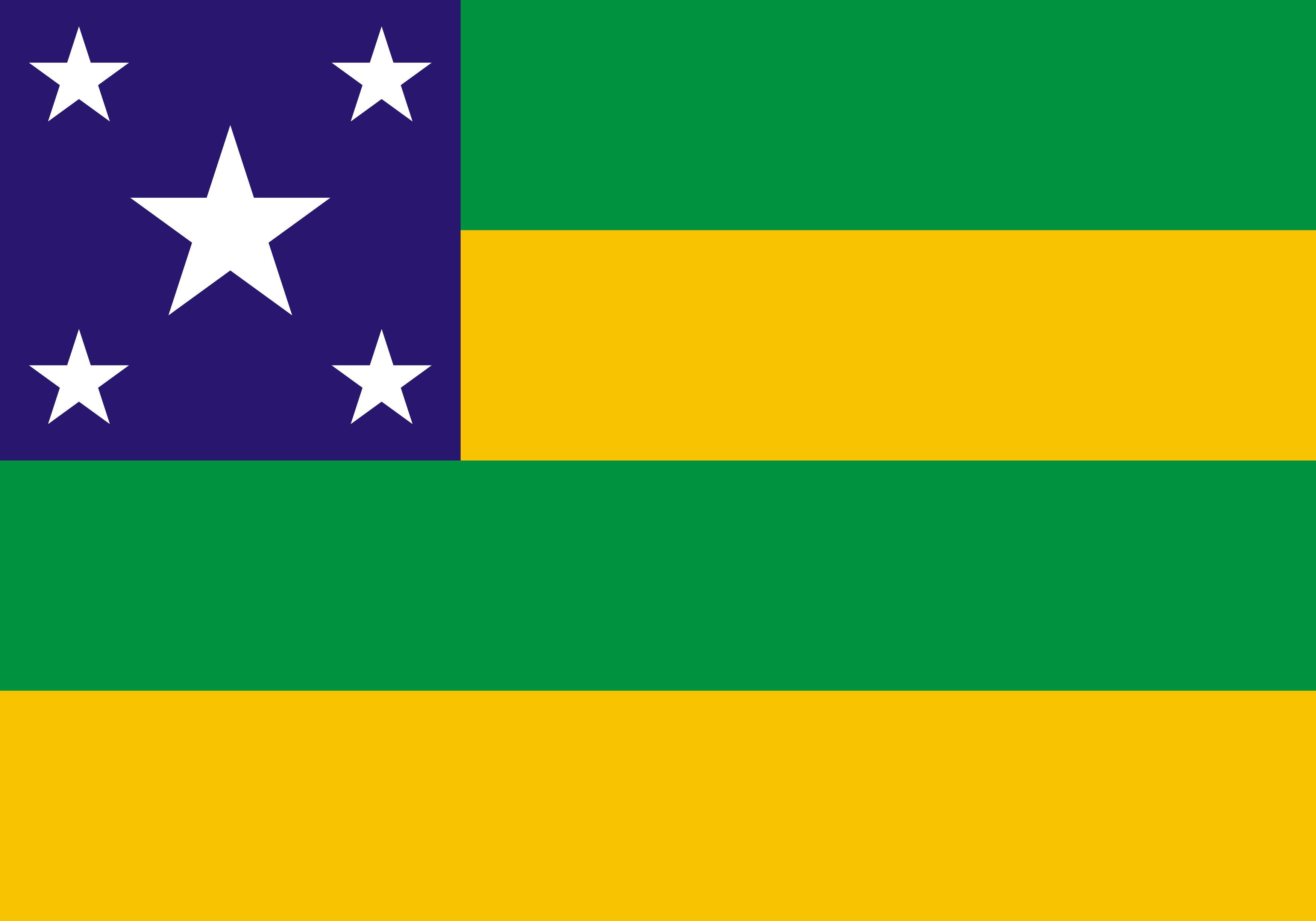 Bandeira de Sergipe, estado.