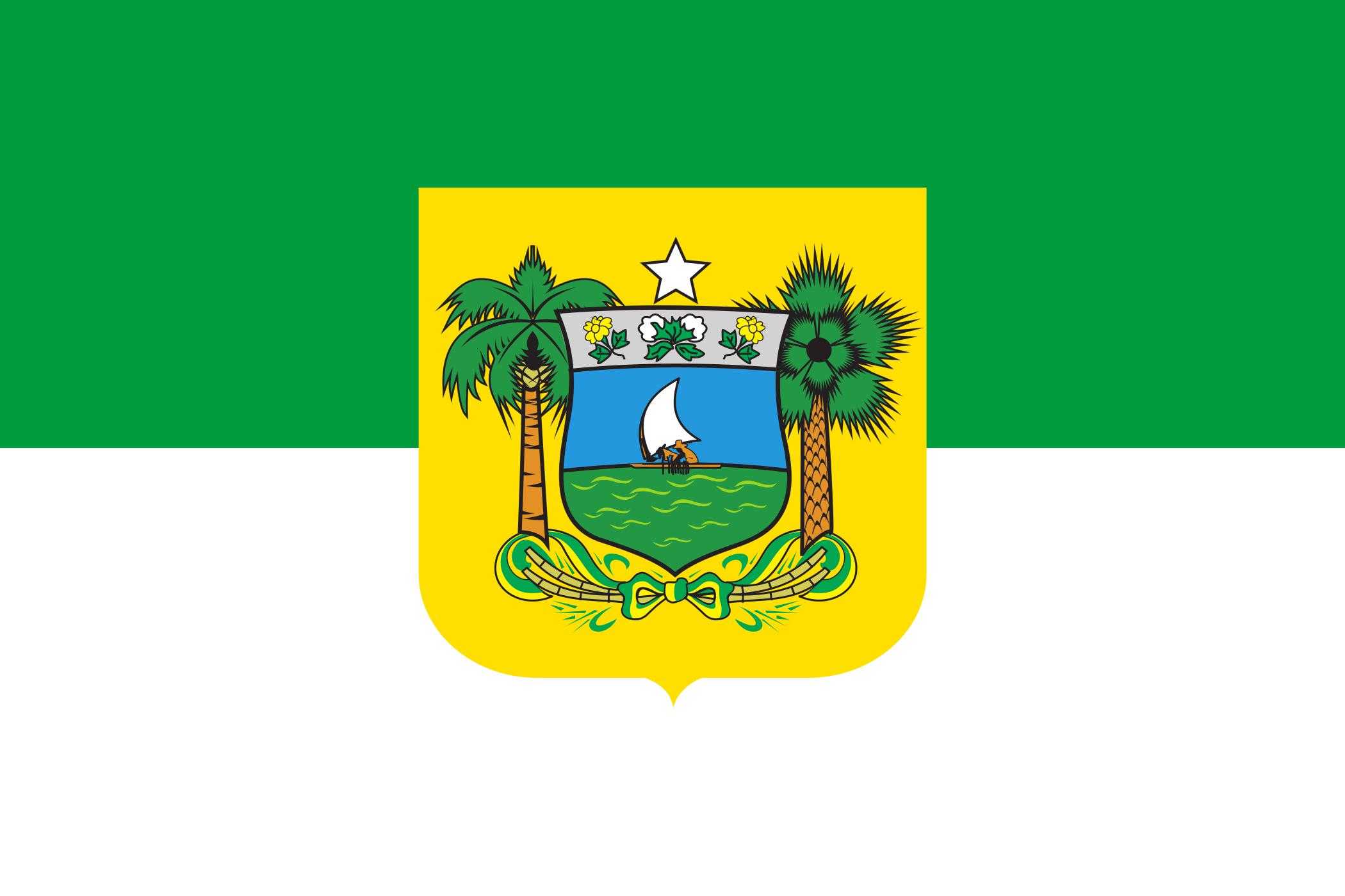Bandeira do Rio Grande do Norte - Estado.