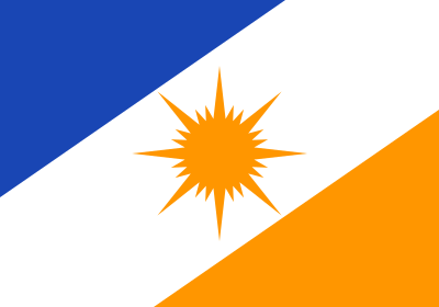 Bandeira do Tocantins, estado.