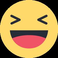emoji Facebook Haha, risada.