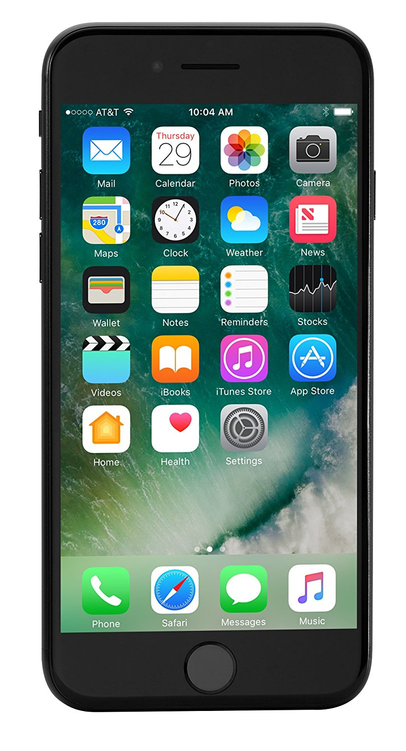 iphone 7 preto, black.