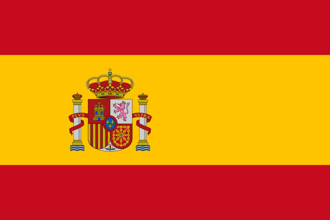 Bandeira Espanha.