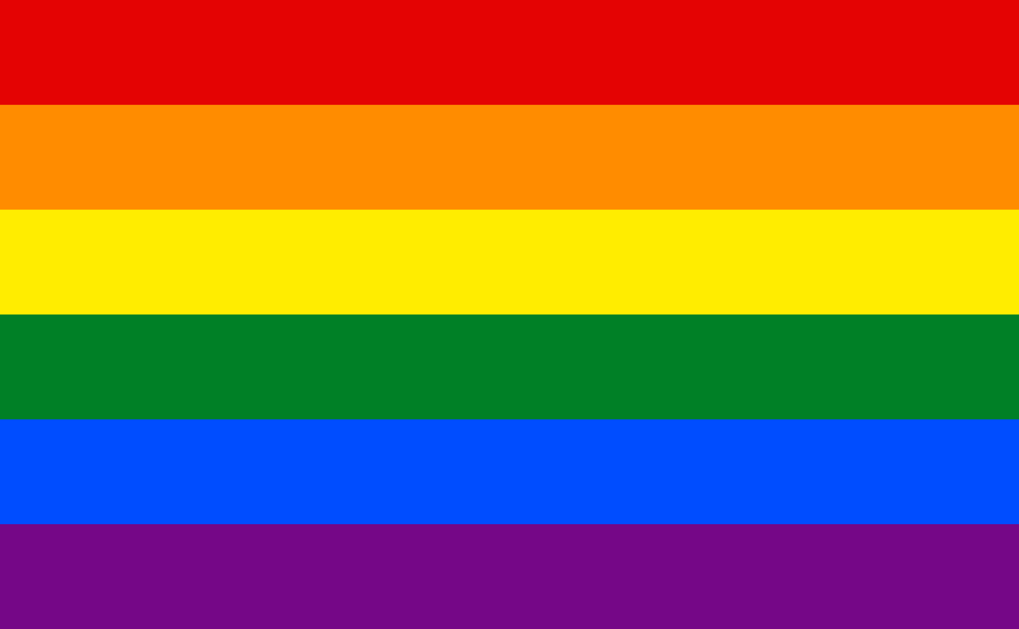 Bandeira LGBT, Gay.