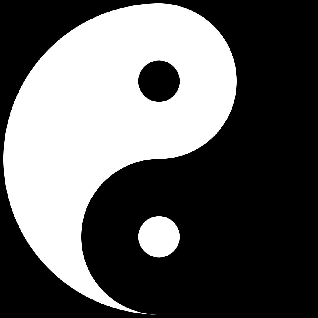 Yin yang.