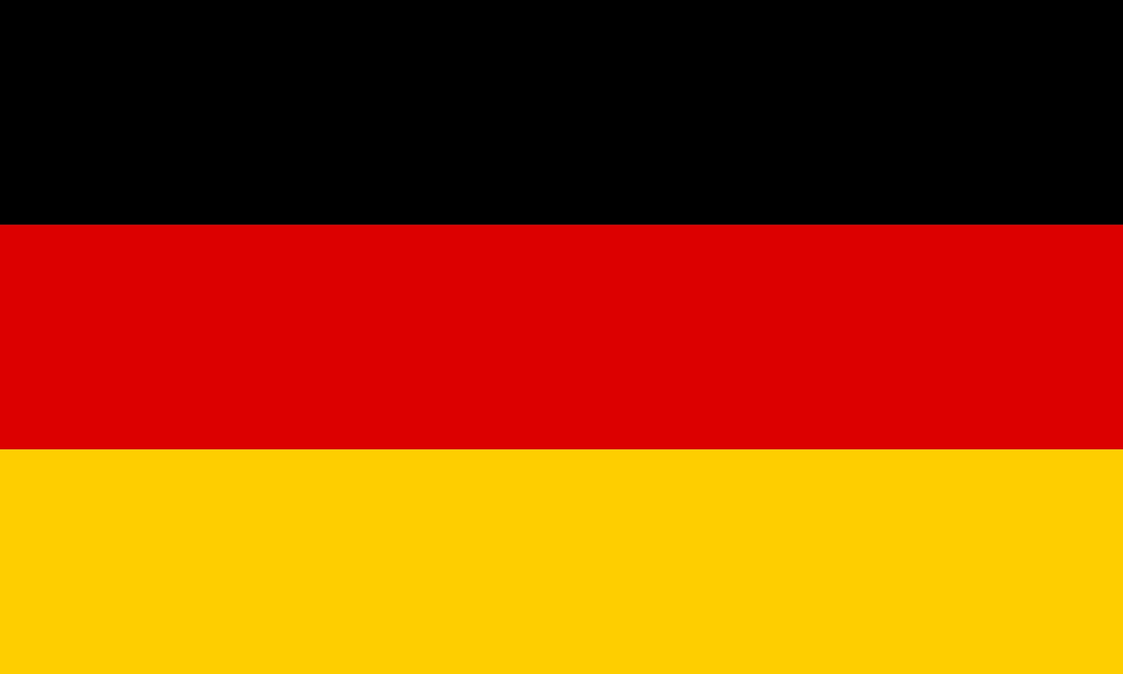 Bandeira da Alemanha.