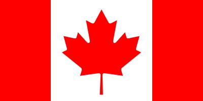 Bandeira do Canada.