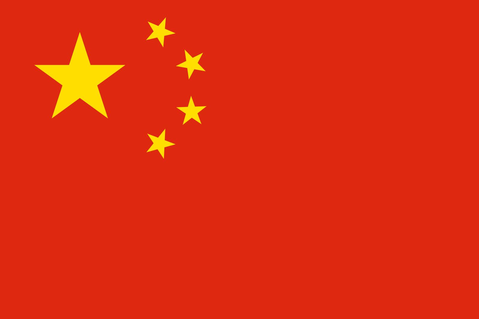 Bandeira da China.