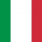 Bandeira da Itália.