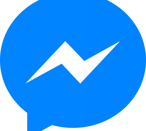 Facebook Messenger Ícone.