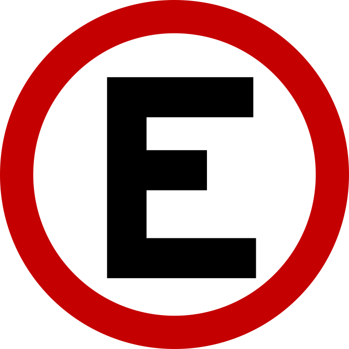Placa Estacionamento, permitido estacionar.