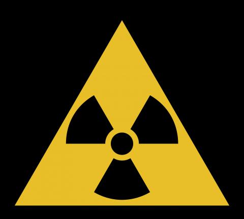 Símbolo Radioatividade.