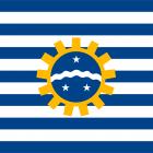 Bandeira de São José dos Campos SP.