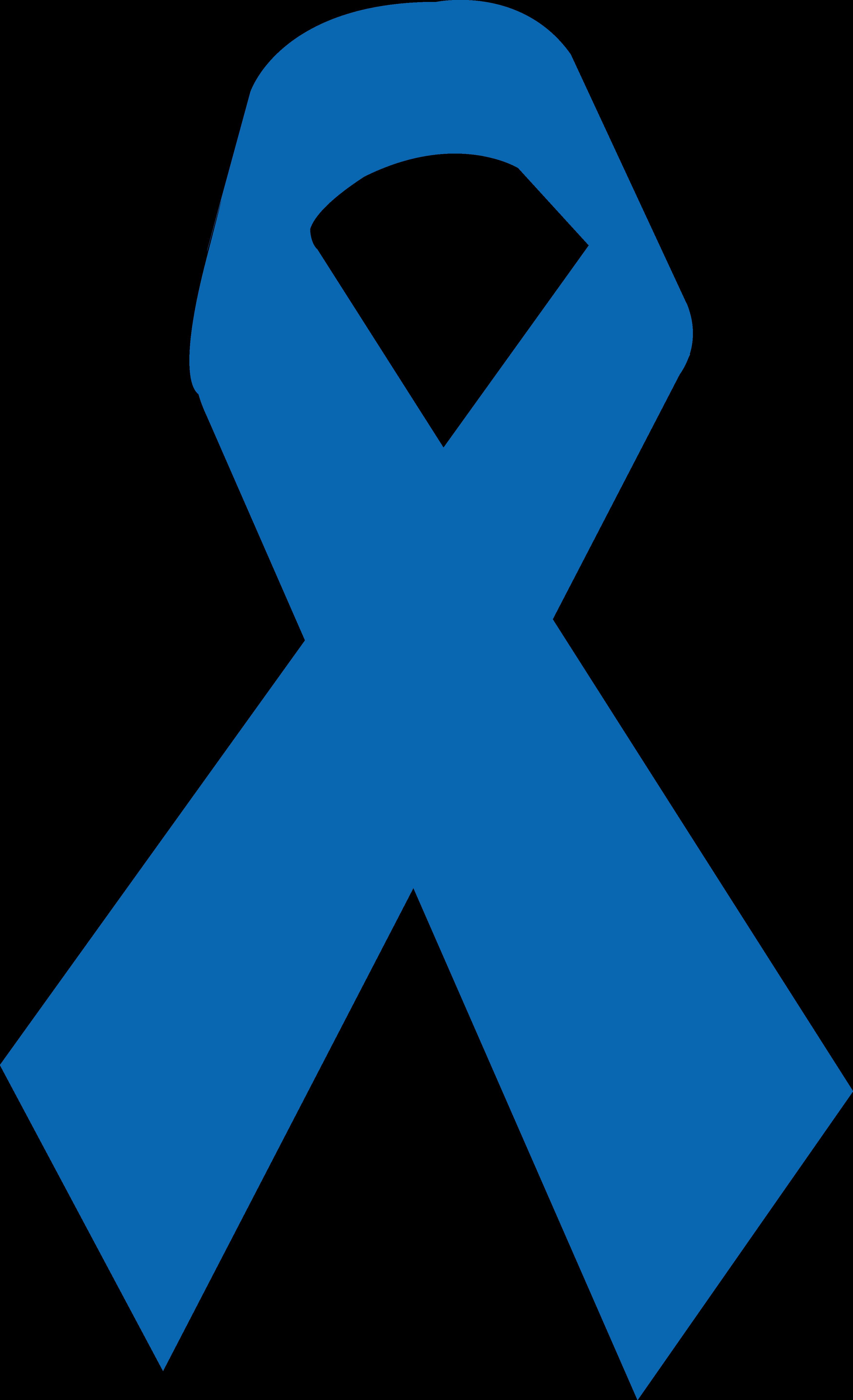 Laço de Fita Azul.