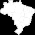 Mapa do Brasil em Branco.