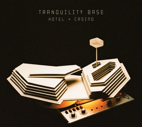 Capa do Álbum - Arctic Monkey Tranquility Base Hotel & Casino