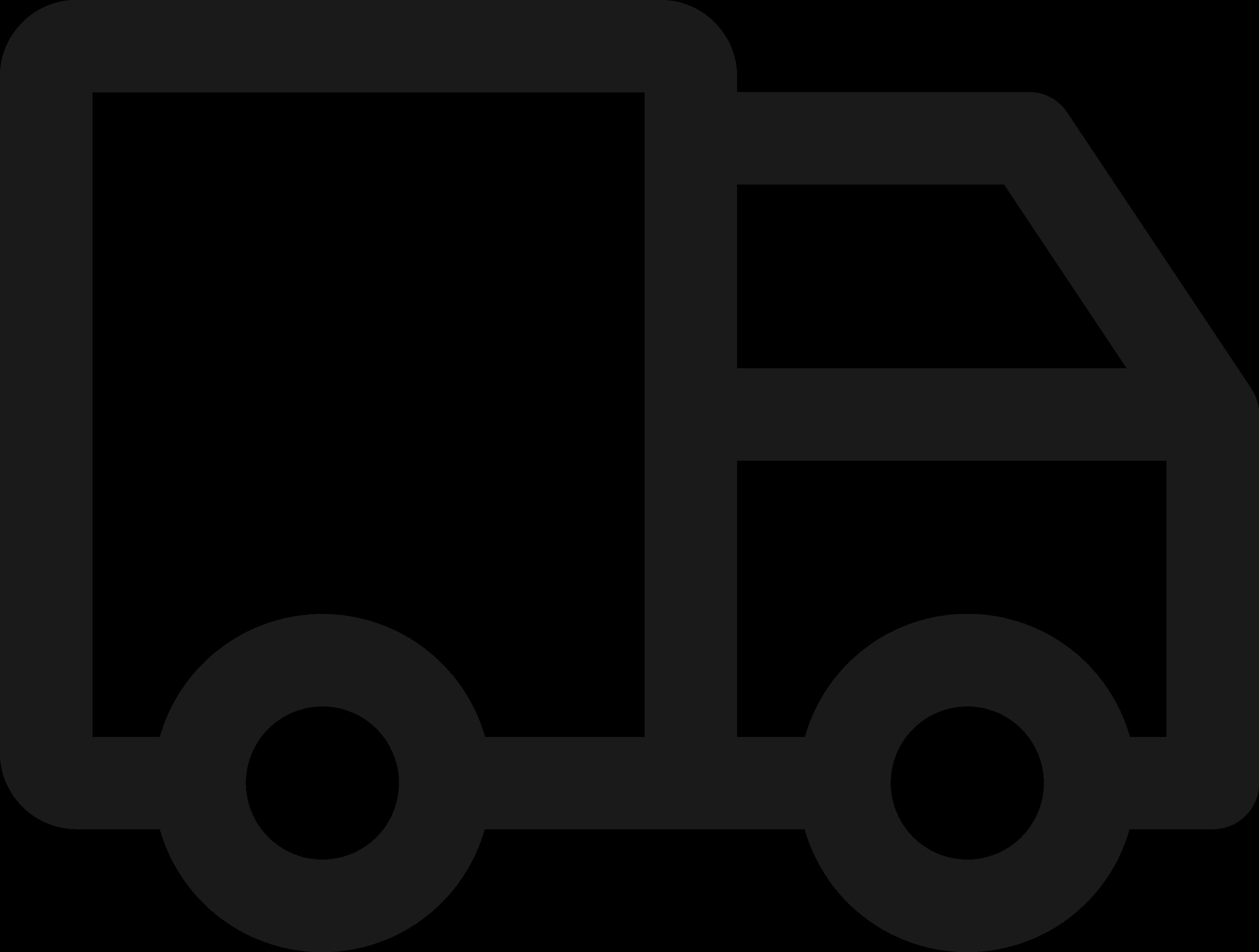 Caminhão Frete Ícone.