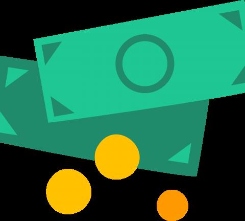 Dinheiro ícone, money icon.