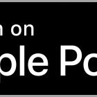 Botão Listen on Apple Podcasts PNG.