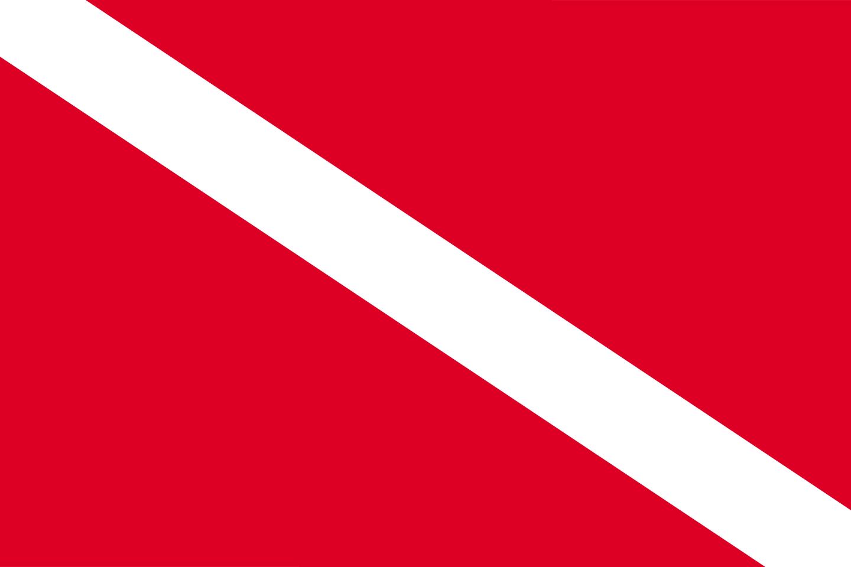 Bandeira de Mergulho.